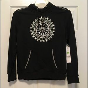 Black,  Size Small Ladies Sweater Hoodie,  Ladies
